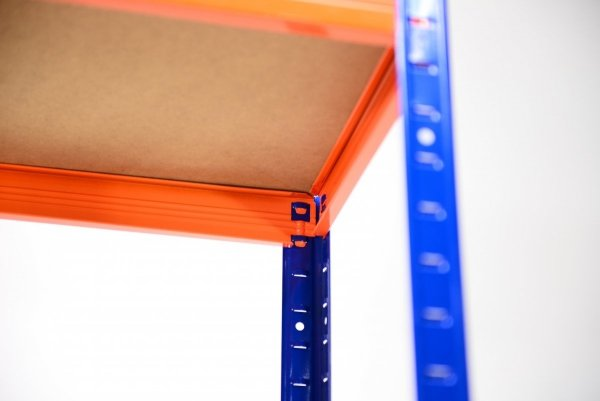 Metallregal Werkstatt Schwerlastregal  bunt farbig   Helios 213x100x30 6 Stabil