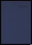 Kalendarz 2020 TOP 2000 Standard A5 tydzień na rozkładówce, granatowy 400126105