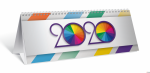Kalendarz biurkowy 2020 TOP 2000 poziomy 11,5x28,5 tydzień na rozkładówce, 400126198