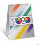 Kalendarz biurkowy 2020 TOP 2000 pionowy 12x18 tydzień na rozkładówce, 400126199