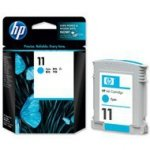 Tusz HP 11 do Business 2800, Designjet 110/111 | 2 350 str. | cyan