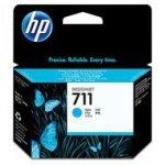 Tusz HP 711 do Designjet T120/520 | 29ml | cyan