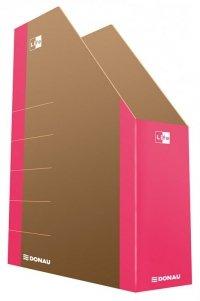 Pojemnik na dokumenty DONAU Life, karton, A4, różowy