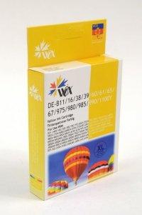 Tusz Wox Yellow BROTHER LC980Y/LC985Y/LC1100<br />Y zamiennik LC-980Y / LC-985Y / LC-1100Y