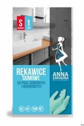 Rękawice gumowe S ANNA ZARADNA R-0745