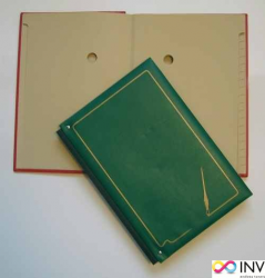 Teczka do podp.20k zielona registry 920-004  WARTA  grzbiet harmo.