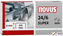 Zszywki 24/6 DIN SUPER 1000sztuk NOVUS 040-0026