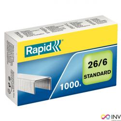 Zszywki RAPID Standard 26/6 1M 24861300