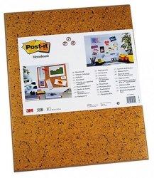 Tablica samoprzylepna POST-IT (558), 585x460mm, jasnobrązowa