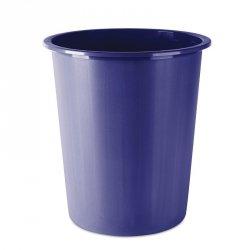 Kosz na śmieci DONAU, pełny, 14l, niebieski
