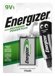 Akumulator ENERGIZER Power Plus, E, HR22,9V, 175mAh