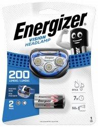 Latarka czołowa ENERGIZER Headlight Vision + 3szt. baterii AAA, niebieska