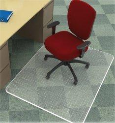 Mata pod krzesło Q-CONNECT, na dywany, 150x120cm, prostokątna