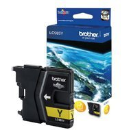 Tusz Brother do DCPJ125/315W/515W/220/265W/410/415w | 260 str. | yellow