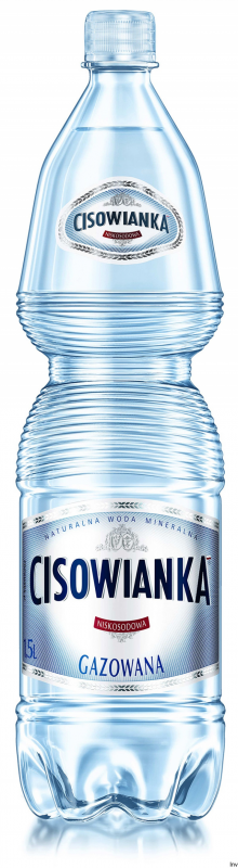 Woda CISOWIANKA 1.5l gazowana