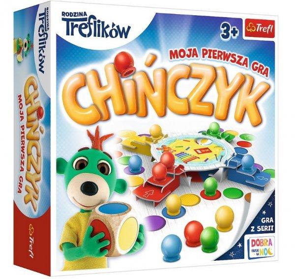 Gra Chińczyk Moja pierwsza gra Trefliki