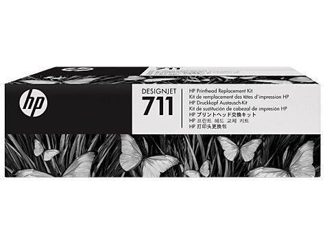 Zestaw zamiennej głowicy drukującej HP 711   Designjet T120/T520