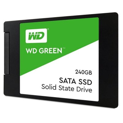 SSD WD Green SSD 2,5'' 240GB SATA III Gw36m BOX