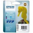 Zestaw tuszy Epson T048C do R-200/220/300/340, RX-500/600 | 39ml | C/M/B