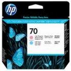 Głowica HP 70 do Photosmart B8850, Designjet Z2100 | light cyan + light magenta