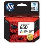 Tusz HP 650 do Deskjet 1015/1515/2515/3515/3545/4645 | 200 str. | CMY