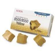 Kostki barwiące Xerox do Phaser 8500/8550 | 3 000 str. | yellow