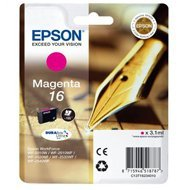 Tusz Epson T1623 do WF-2510WF/2520NF/2530WF | 3,1ml | magenta