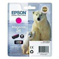 Tusz Epson T2613 do XP-600/700/800 | 4,7ml | magenta