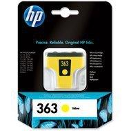 Tusz HP 363 Vivera do Photosmart 3210/3310/8250   400 str.   yellow