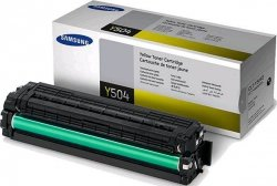Toner oryginalny Samsung CLT-Y504S yellow do CLP-415 / CLP-415NW / CLX-4195 / CLX-4195FW / CLX-4195FN na 1,8 tys str.