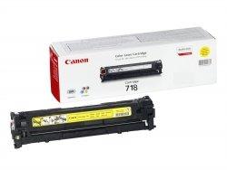 Toner oryginalny Canon 718 yellow LBP-7200 LBP-7680 na 2,9 tys. CRG718