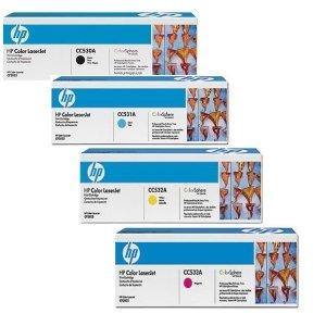Komplet tonerów CMYK HP CC53KMPL do HP Color LaserJet CM 2320 / CP 2025 / CP 2020 / (black, cyan, magenta, yellow)