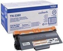 Toner oryginalny Brother TN3380 black do  HL-5440D / HL-5450DN / HL-5470DW / HL-6180DW / MFC-8510DN / MFC-8520DN / MFC-8950DW / DCP-8110DN / DCP-8250DN na 8 tys. str. TN-3380
