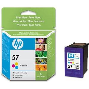Tusz HP No 57 kolor C6657AE poj. 17ml do DeskJet 5650 / DeskJet  9680 / PSC 1310