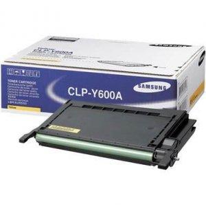 Toner Samsung CLP-Y600A yellow do CLP-600 / CLP-600 N / CLP-650 / CLP-650 N  na 4 tys. str.