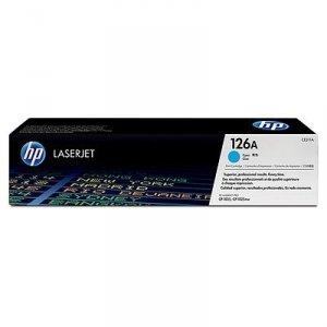Toner oryginalny HP 126A (CE311A) cyan do HP Color LaserJet CP1025 / Pro 100 Color MFP M175a / Laserjet Pro M275  na 1 tys. str.