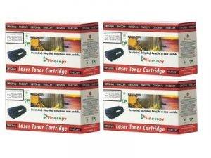 Komplet zamiennych tonerów FINECOPY CMYK do HP Color LaserJet CM1312 MFP / CP1515 / CP1515n / CP1215 / (CB540A, CB541A, CB542A,