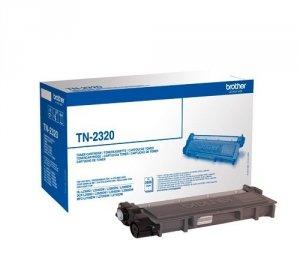 Toner oryginalny Brother TN2320 black do HL-L2300D / HL-L2360DN / HL-L2340DW / HL-L2365DW / DCP-L2500D /  DCP-L2540DN / DCP-L2520DW / MFC-L2700DW na 2,6 tys.str
