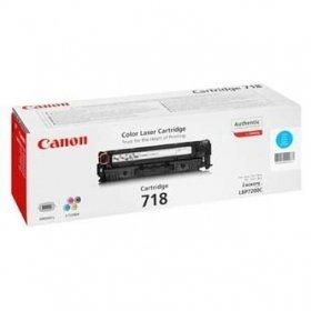 Toner oryginalny Canon 718 cyan do Canon I-Sensys LBP-7200Cdn / LBP-7680Cxna / LBP-7660Cdn / MF-8350Cdn / MF-8330Cdn / MF-8380Cdw na 2,9 tys. CRG718C
