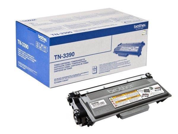 Toner oryginalny Brother TN3390 black do HL-6180DW / MFC-8950DW / DCP-8250DN na 12 tys. str. TN-3390