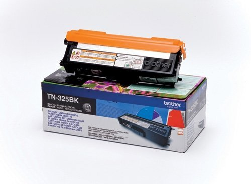 Toner oryginalny Brother TN325BK black do  HL-4140CN / HL-4150CDN / HL-4570CDW / DCP-9055CDN / DCP-9270CDN / MFC-9460CDN  na 4 tys. str. TN-325BK