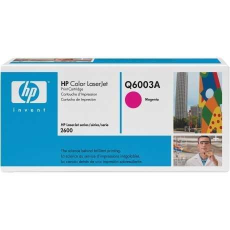 Toner HP Q6003A magenta do CLJ 1600 / 2600 / 2600N / 2605DN / 2605DTN / CM1015 / CM1017 / na 2 tys. str.
