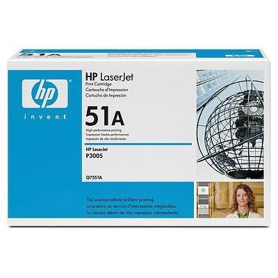 Toner HP Q7551A black do HP LJ M3035 MFP / P3005 / M3027MFP / M3035MFP / M3027MFP na 6,5 tys. str. 51A