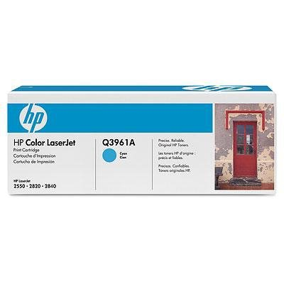 Toner HP Q3961A cyan do Color LaserJet 2550 / 2820 / 2840 na 4 tys. str.