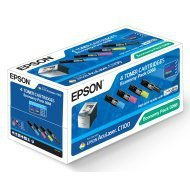 Zestaw tonerów Epson do AcuLaser C1100, CX-11 Series | CMYK