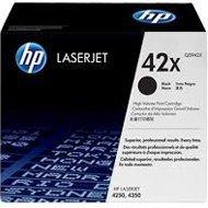 Zestaw dwóch tonerów HP 42X do LaserJet 4250/4350 | 2 x 20 000 str. | black