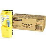 Toner Kyocera TK-820Y do FS-C8100DN | 7 000 str. | yellow