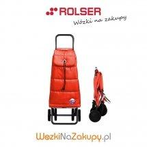 Wózek na zakupy PAC024 LOGIC DOS+2 POLAR kolor ROJO, firmy Rolser