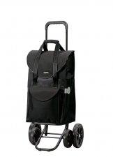 Wózek na zakupy Quattro Senta czarny, firmy Andersen