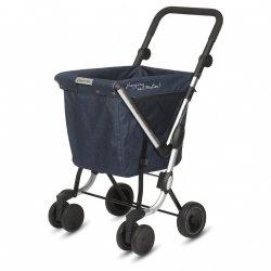 Wózek na zakupy We Go kolor Jeans, firmy Playmarket
